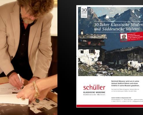 Reinhold Messner Galerie Schüller